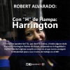 "ROBERT ALVARADO: Con ""H"" de Hampa: Harrington"