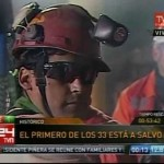 Chile: Sale a la superficie el primer minero (+video)