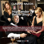 CLAUDIO NAZOA, Highlander Barber Shop